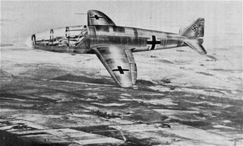 Heinkel He-176 - первый в мир реактивный самолёт