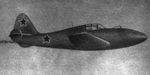 Первый проект советского ракетного истребителя-перехватчика