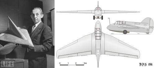 Александр Липпиш - один из ведущих немецких специалистов в области аэродинамики