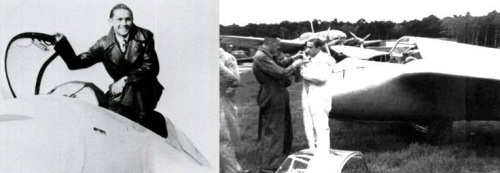 Хайнц Диттмар - испытатель Ме-163