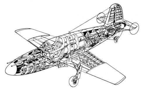 Компоновка самолёта БИ (1)