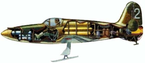 Компоновка самолёта БИ (2)
