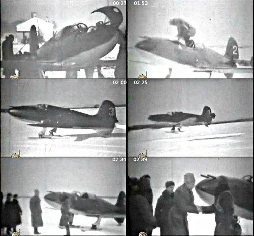 Испытания БИ-2 и БИ-3 (кадры из кинохроники)