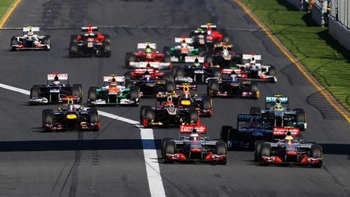 Старт Гран-При Австралии 2012. Начало захватывающего сезона